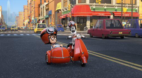 Die Abenteuer von Mr. Peabody & Sherman Blu-ray Review Szene 1