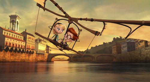 Die Abenteuer von Mr. Peabody & Sherman Blu-ray Review Szene 5