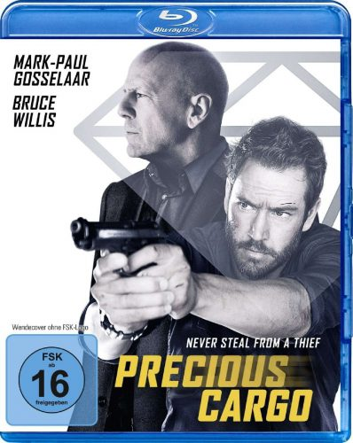 Precious Cargo - Never Steal from a Thief Blu-ray Review Cover