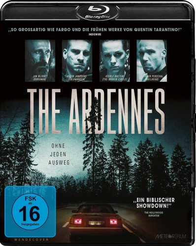 The Ardennes - Ohne jeden Ausweg Blu-ray Review Cover