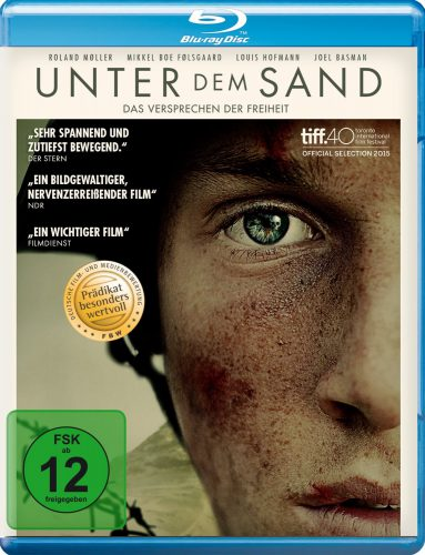 Unter dem Sand - Das Versprechen der Freiheit Blu-ray Review Cover