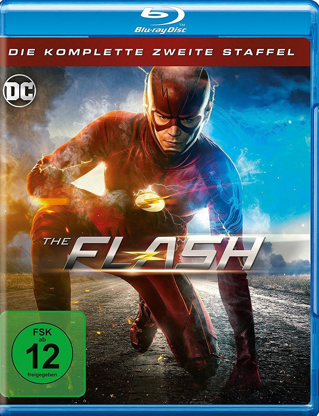 The Flash Komplette Staffel 2 Season 2 Blu Ray Review
