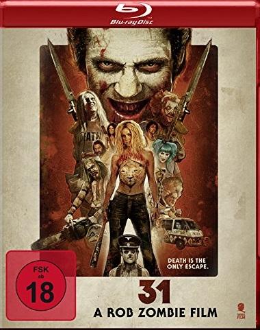 31 - A Rob Zombie Film Blu-ray Review, Rezension, Kritik, Bewertung ...