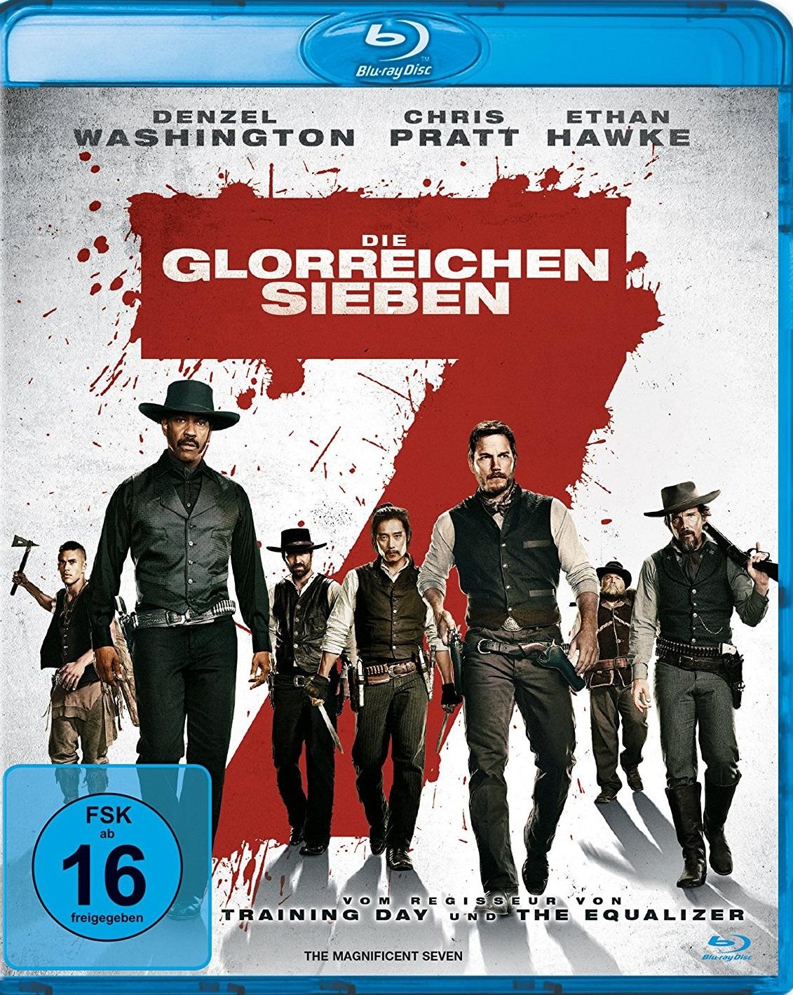 Die Glorreichen Sieben Blu Ray