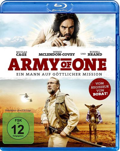 Army of One - Ein Mann auf göttlicher Mission Blu-ray Review Cover