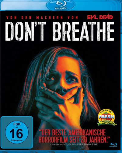 Don't Breathe Blu-ray Review Cover