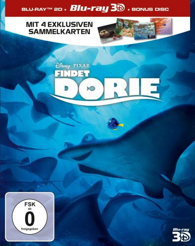 Findet Dorie 3D Blu-ray Review Cover