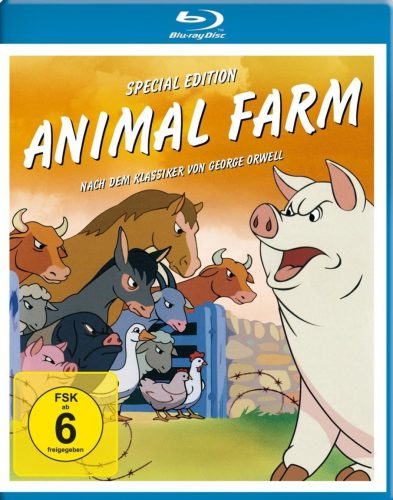 George Orwells Animal Farm Blu-ray Review Cover