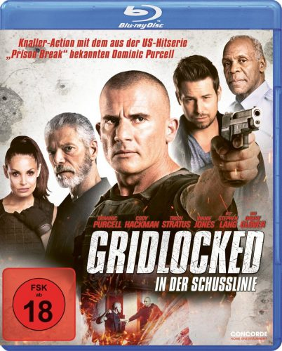Gridlocked - In der Schusslinie Blu-ray Review Cover