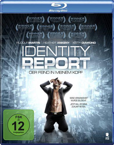 Identity Report - Der Feind in meinem Kopf Blu-ray Review Cover
