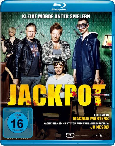 Jackpot - Kleine Morde unter Freunden Blu-ray Review Cover