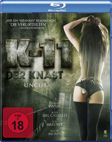 K-11 - Der Knast uncut Blu-ray Review Cover