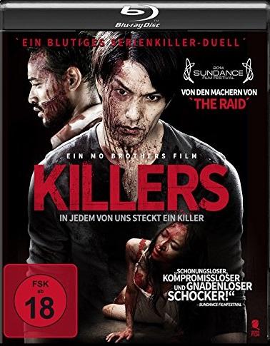 Killers - In jedem von uns steckt ein Killer Blu-ray Review Cover