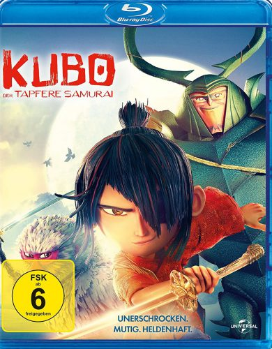 Kubo - Der tapfere Samurai Blu-ray Review Cover