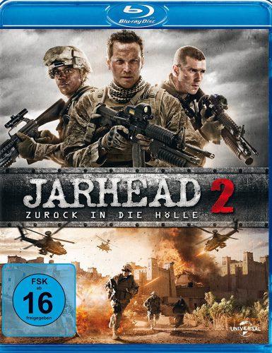 Lest das Blu-ray Review zu Jarhead 2 - Zurück in die Hölle Cover