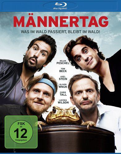 Männertag - Was im Wald passiert, bleibt im Wald Blu-ray Review Cover