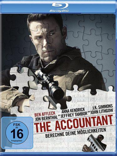 The Accountant - Berechne deine Möglichkeiten Blu-ray Review Cover