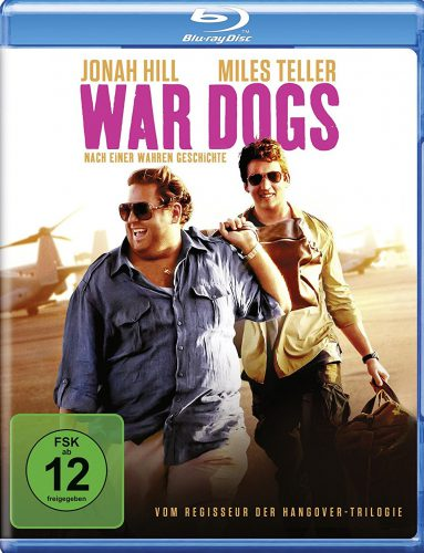 War Dogs Blu-ray Review Cover