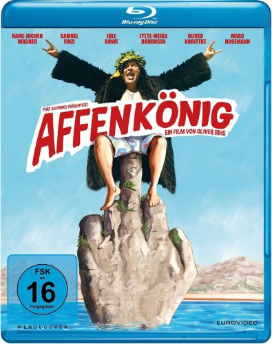 Affenkönig Blu-ray Review Cover