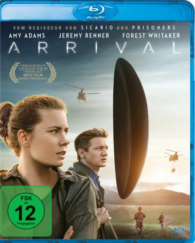 Arrival Blu-ray Review Cover