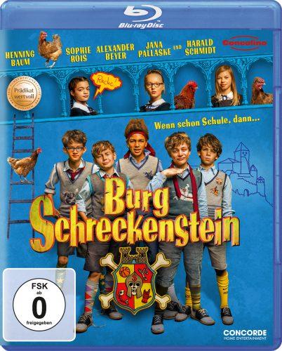 Burg Schreckenstein Blu-ray Review Cover