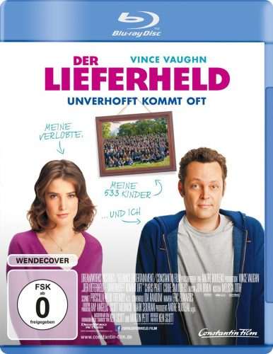 Der Lieferheld - Unverhofft kommt oft Blu-ray Review Cover