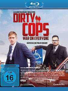 Dirty Cops - War on Everyone Blu-ray Review Cover