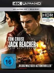 Jack Reacher Kein Weg zurück 4K UHD Blu-ray Review Cover