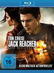 Jack Reacher Kein Weg zurück Blu-ray Review Cover