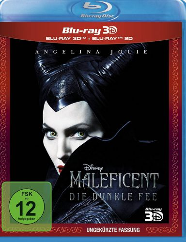 Maleficent - die dunkle Fee 3D Blu-ray Review Cover