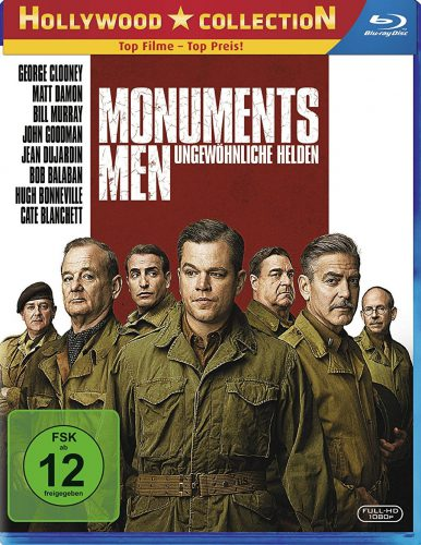 Monuments Men - Ungewöhnliche Helden Blu-ray Review Cover