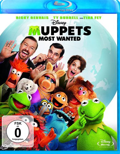 Muppets Most Wanted Blu-ray Review Cover