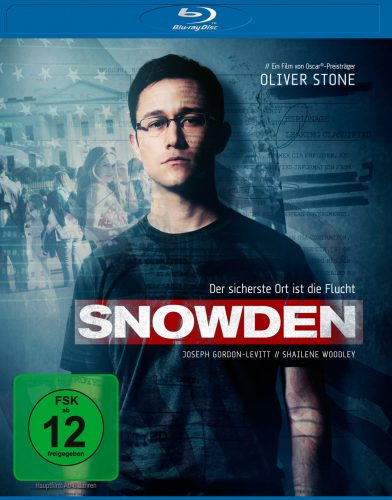 Snowden Blu-ray Review Cover