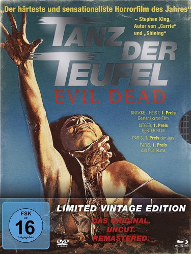 Tanz der Teufel - Evil Dead Blu-ray Review Cover