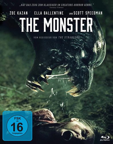 The Monster Blu-ray Review Cover