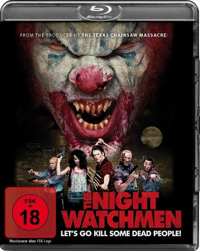 The Night Watchmen - Let's Go Kill Some Dead People Blu-ray Review Cover
