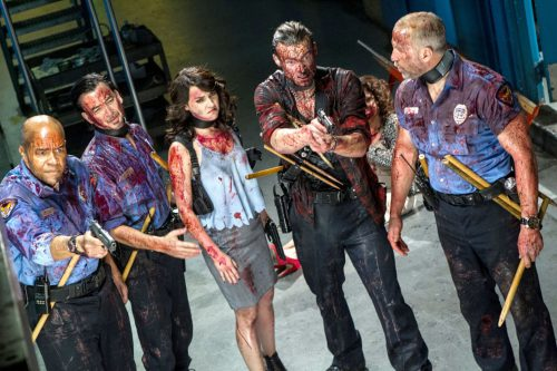 The Night Watchmen - Let's Go Kill Some Dead People Blu-ray Review Szene 2