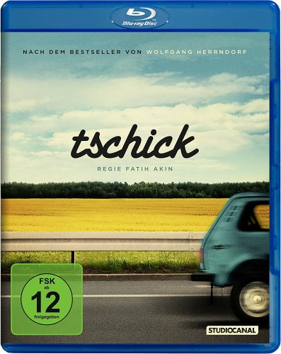 Tschick Blu-ray Review Cover