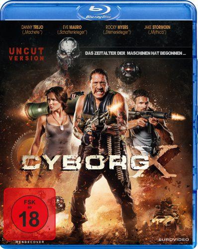 Cyborg X - Das Zeitalter der Maschinen hat begonnen Blu-ray Review Cover