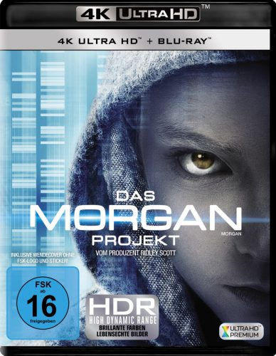 Das Morgan Projekt 4K UHD Blu-ray Review Cover