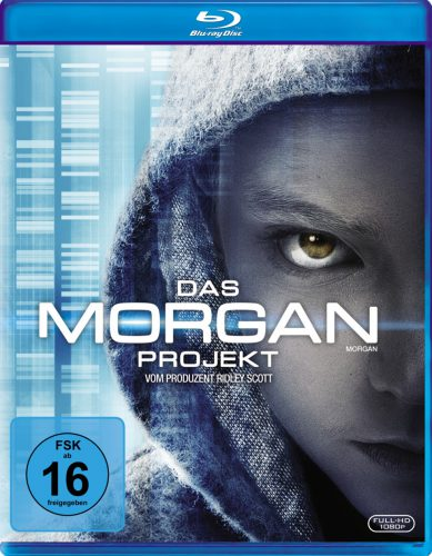 Das Morgan Projekt Blu-ray Review Cover