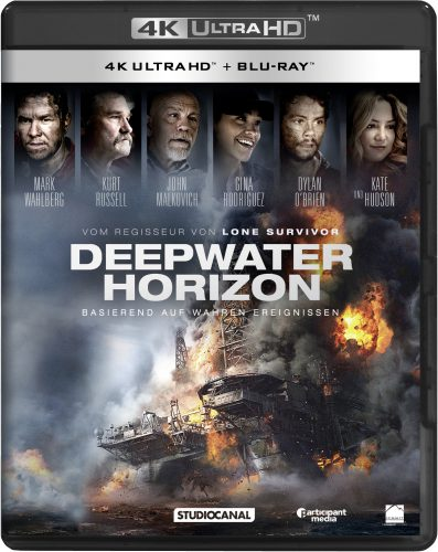 Deep Water Horizon 4K UHD Blu-ray Review Cover