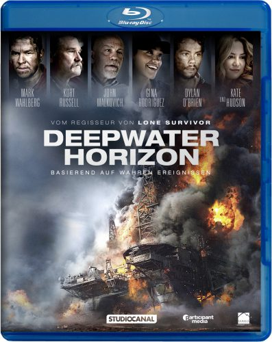 Deep Water Horizon Blu-ray Review Cover