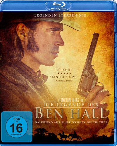 Die Legende des Ben Hall Blu-ray Review Cover