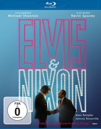 Elvis & Nixon Blu-ray Review Cover