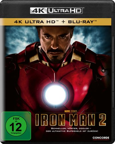 Iron Man 2 4K UHD Blu-ray Review Cover