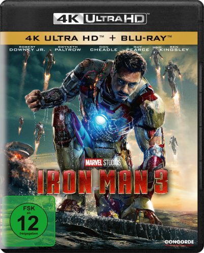 Iron Man 3 4K UHD Blu-ray Review Cover