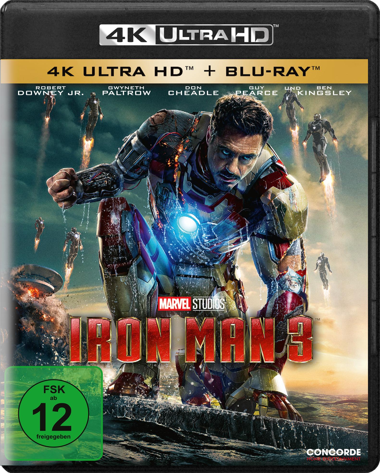 Uhd Blu Ray Kritik Iron Man 3 4k Review Rezension