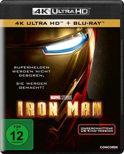 Iron Man 4K UHD Blu-ray Review Cover