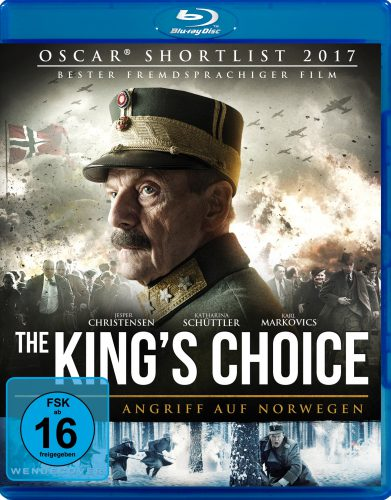 King's Choice - Angriff auf Norwegen Blu-ray Review Cover